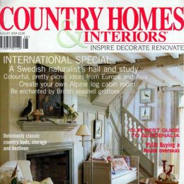 Blott Kerr-Wilson, 'Country Homes and Interiors', magazine feature