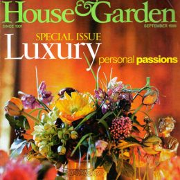 Blott Kerr-Wiilson, 'House and Gardens', magazine feature