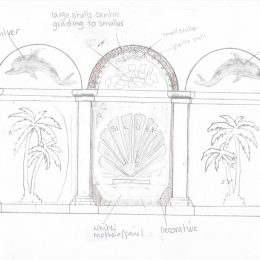 Blott Kerr-Wilson, 'Irma', design drawing