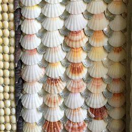 Blott Kerr-Wilson, 'Waterwall', detail of shell design work