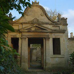 Blott Kerr-Wilson, 'Belcombe Shell Folly', temple view